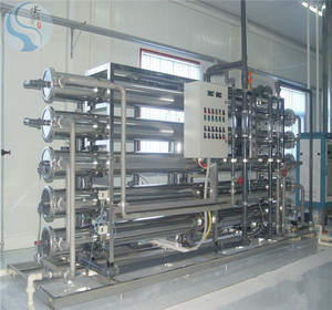 100吨电子不锈钢超纯水设备