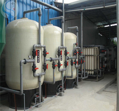 200吨电力锅炉軟化水設備