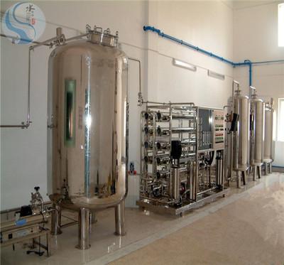 10吨全不锈钢食品行业純水設備